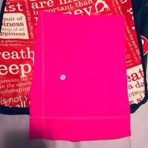 Lululemon Pink Athletic Capris